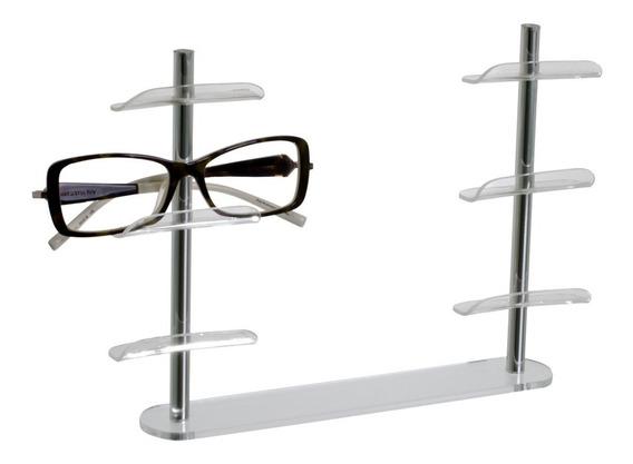 Expositor De Óculos Em Acrílico Para Vitrine Transparente