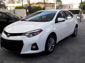 Toyota Corolla 2014 Blanco, Excelentes Condiciones