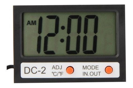 Temperatura Relógio Digital + Sensor Externo #p05