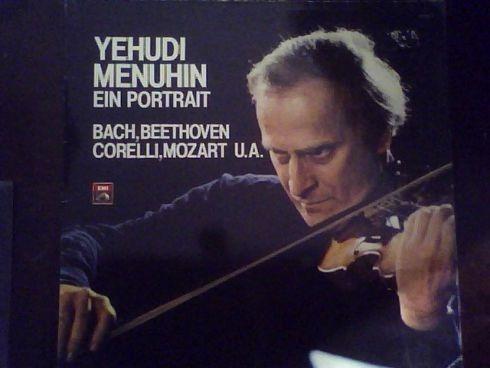 Lp Menuhin - Ein Portrait Bach, Beethoven, Mozart(2 Discos)