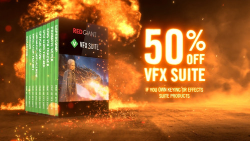 Red Giant Vfx Suite + Serial