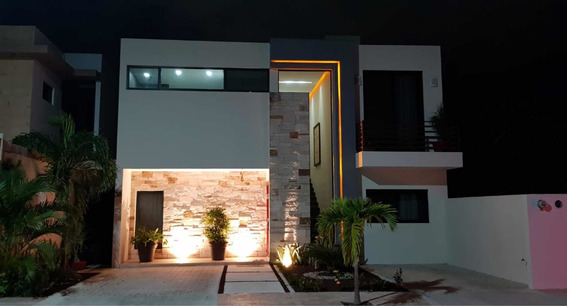 Hermosa Residencia Zona Norte Playa Del Carmen
