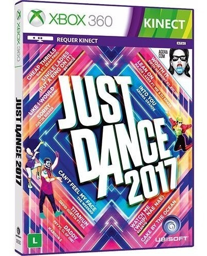 Just Dance 2017 - Xbox 360 - Novo - Mídia Fisica - Original