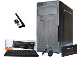 Pc Cpu Intel Core I5 + 8gb Ram + Hd480gb Ssd + Dvdrw +wi-fi.