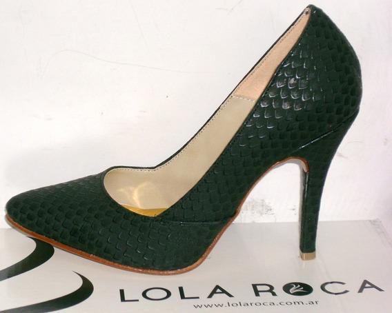 Zapatos Luis Xv Stilettos Lola Roca Sandalias
