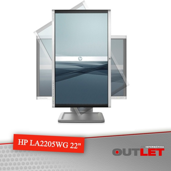 Kit 03 Unidades Monitor Lcd 22 Wide Hp Comp La2205wg