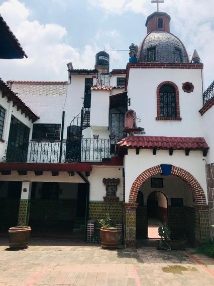 Espectacular Casa Colonial En Venta En Coyoacán