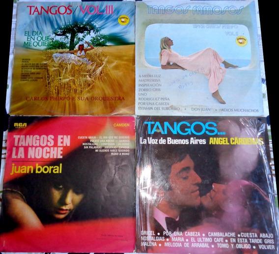 4 Lps De Tango- Usados, Frete