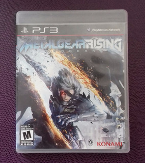 Juego Metal Gear Rising: Revengeance De Konami Para Ps3