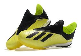 Chuteira Society adidas X Tango 18.0 Profissional Yellow :