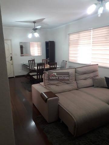Apartamento Com 3 Dormitórios À Venda, 113 M² Por R$ 480.000,00 - Ponta Da Praia - Santos/sp - Ap2925