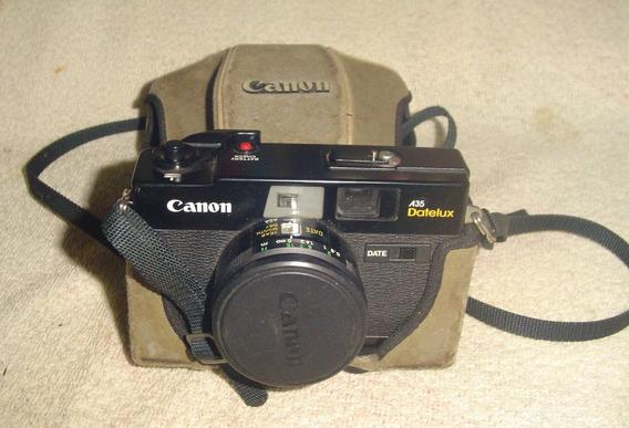 Câmera Canon A 35 - Datelux 40/1:2.8.