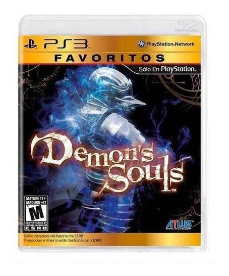 Demons Souls Ps3 Original Midia Fisica