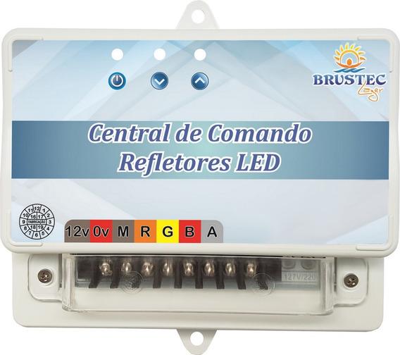 Kit P/fran8353081 12 Refletor Power Led 9w Central Controle
