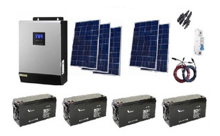Kit Solar 5000w Alta Eficie(estructura De Montaje De Regalo)