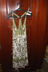 = Roupa Lote 565 Mulher Vestido Verde G 120cm