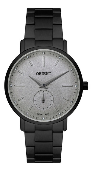 Relógio Orient Feminino Fpss0007 S1px Preto Aço Analogico