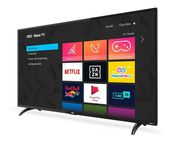 Smart Tv Aoc 32 Led 32s5195/78 Wi-fi Hdmi Usb Conversor