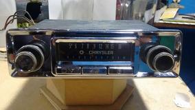Antigo Radio Chrysler Anos 70 Funcionando