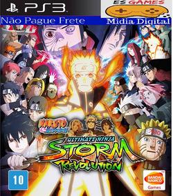Naruto Shippuden Storm Revolution - Psn Ps3 - Pronta Entrega