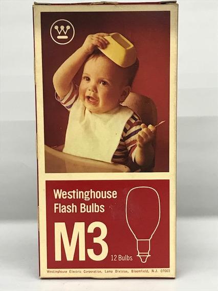 Lâmpada Flash Bulbs Westinghouse M3 C/12.