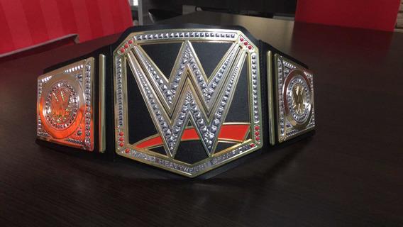 Cinturón Wwe Word Heavyweight Champion (peso Pesado)