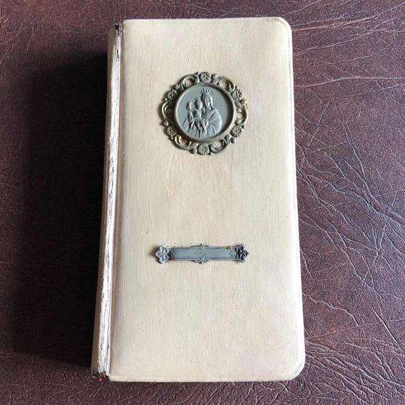 Antigo Missal Livro De Reza Barcelona 1920 Detalhes Em Prata