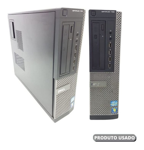Imagem 1 de 9 de Pc Dell Core I3 Ram 8gb Ssd 120gb Super Maquina