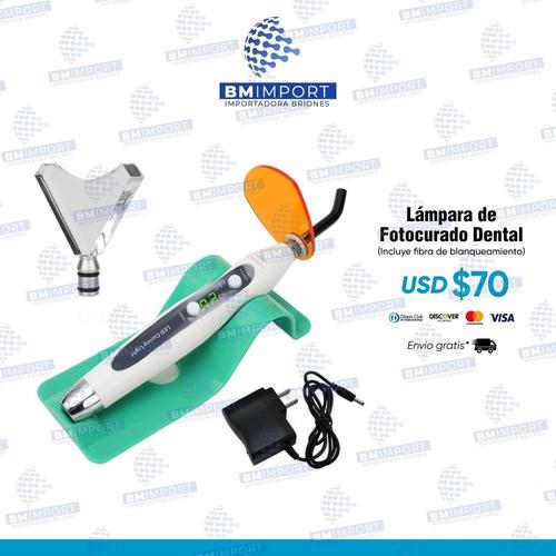 Imagen 1 de 1 de Lamparas De Fotocurado + Fibra De Blanqueamiento Dental