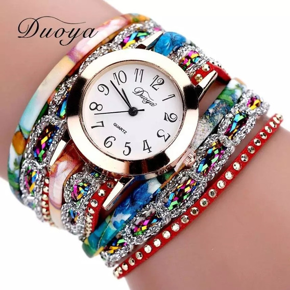Relógio Duoya Pulseira Bracelete