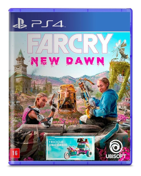 Far Cry New Dawn Ps4 Mídia Física Pronta Entrega Novo