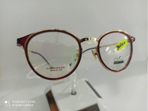 Armazón Óptico Olive, Optometria, Varios Colores, Lentes