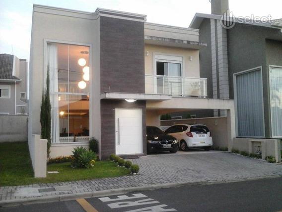 Casa Residencial À Venda, Santa Quitéria, Curitiba. - Ca0056