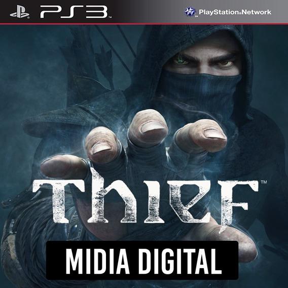 Ps3 - Thief + *dlc* Roubo Ao Banco - Ps3