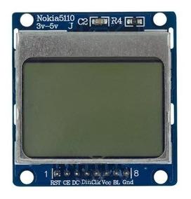 Display Lcd Nokia 5110 Backlight Azul