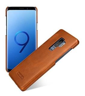 Funda Tetded Funda De Piel Premium Para Samsung Galaxy S9mas