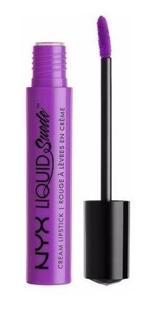 Nyx - Liquid Suede Creme Lipstick - Run The World