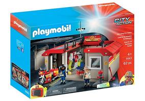 Playmobil City Action Posto De Bombeiro - 5663