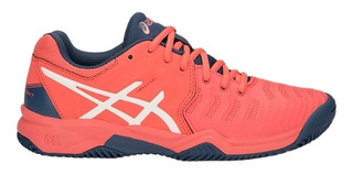Tenis Asics Gel Resolution 7 Gs Rosa Para Tenis Mujer