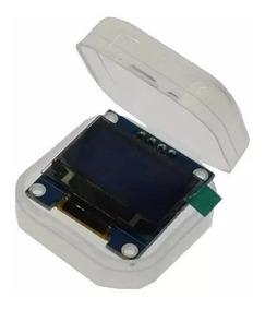 Display Oled 128x64 12c Azul Para Arduino Acompanha Case