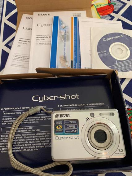 Câmera Digital Cyber-shot Sony Dsc-s730