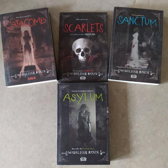 Lote 4 Livros Série Asylum Usados Em Ótimo Estado! Barato!