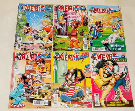 Colección 10 Comics Memin Pinguin Edicion Homenaje Edit Vid