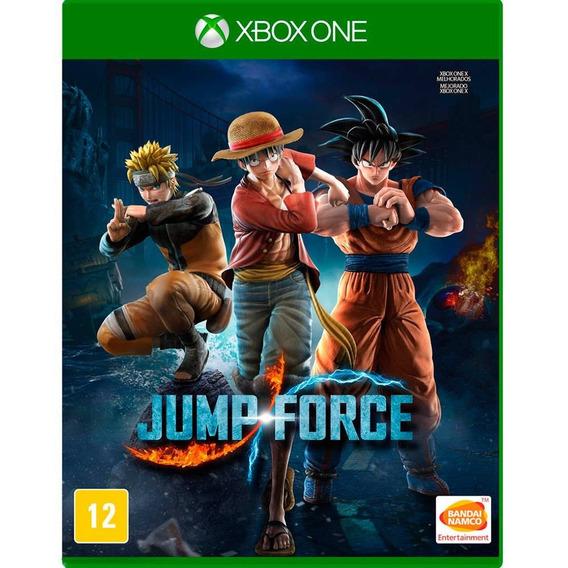 Jump Force Xbox One - Frete Gratis - Mídia Física