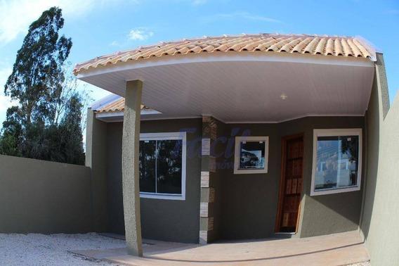 Casa Residencial À Venda, San Martin, Ponta Grossa. - Ca0083