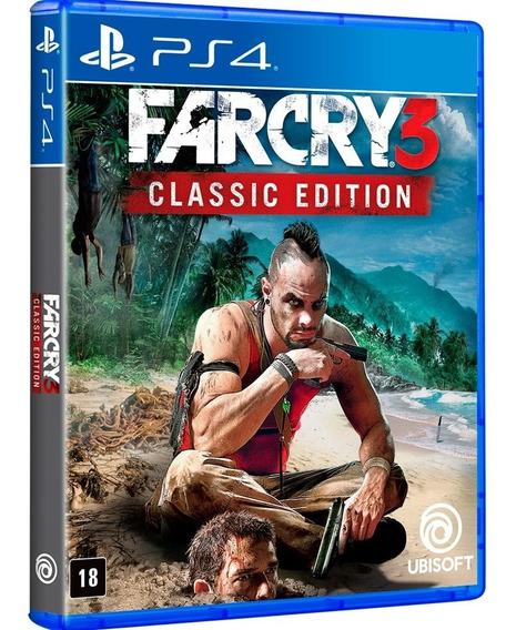 Far Cry 3 Classic Edition Ps4 Jogo Mídia Física Português