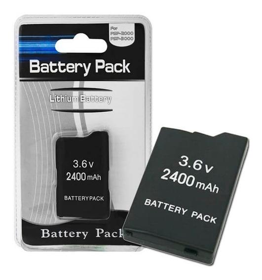 Bateria Pack 2400mah Para Sony Psp Serie 2000/3000