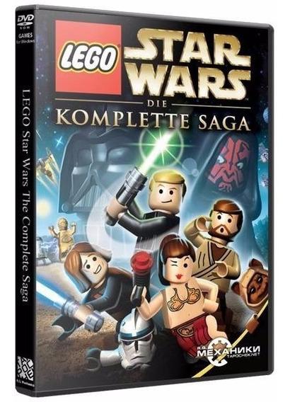 Lego Star Wars: The Complete Saga - Dvd Pc - Frete 10 Reais