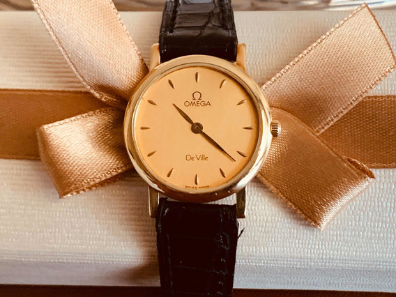 Relógio Omega Ouro 18k Feminino.