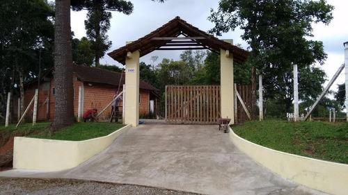 Chácara Com 1 Dormitório À Venda, 18000 M² Por R$ 2.550.000,00 - Itajacuru - Colombo/pr - Ch0004
